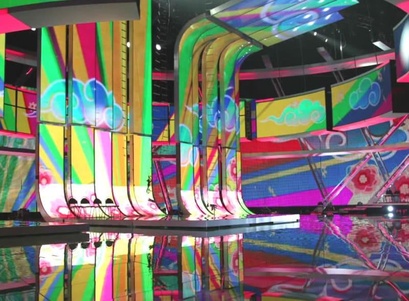 Schermi luminosi palco