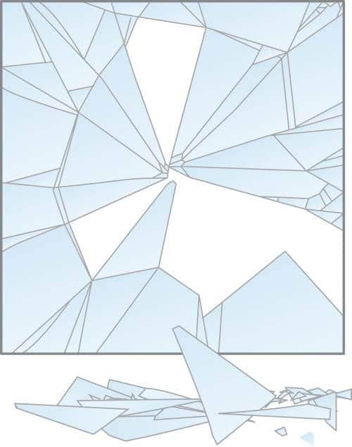 Rottura vetro tipo A
