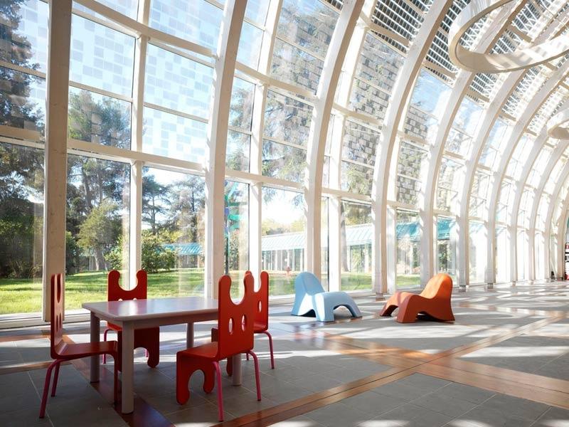 Vetro a controllo solare edificio per bambini